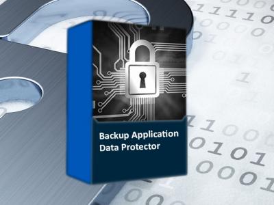 """Foto des Softwarepacketes """"Backup Application Data Protector"""""""